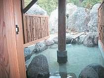 <p>貸切露天風呂の一例</p>