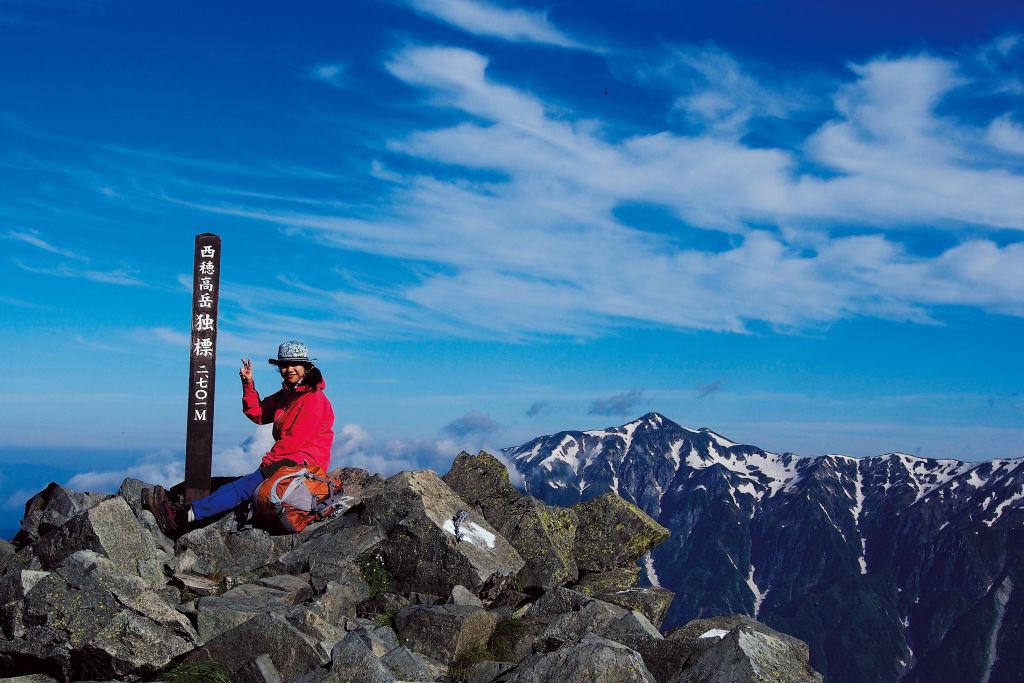 北アルプス登山1