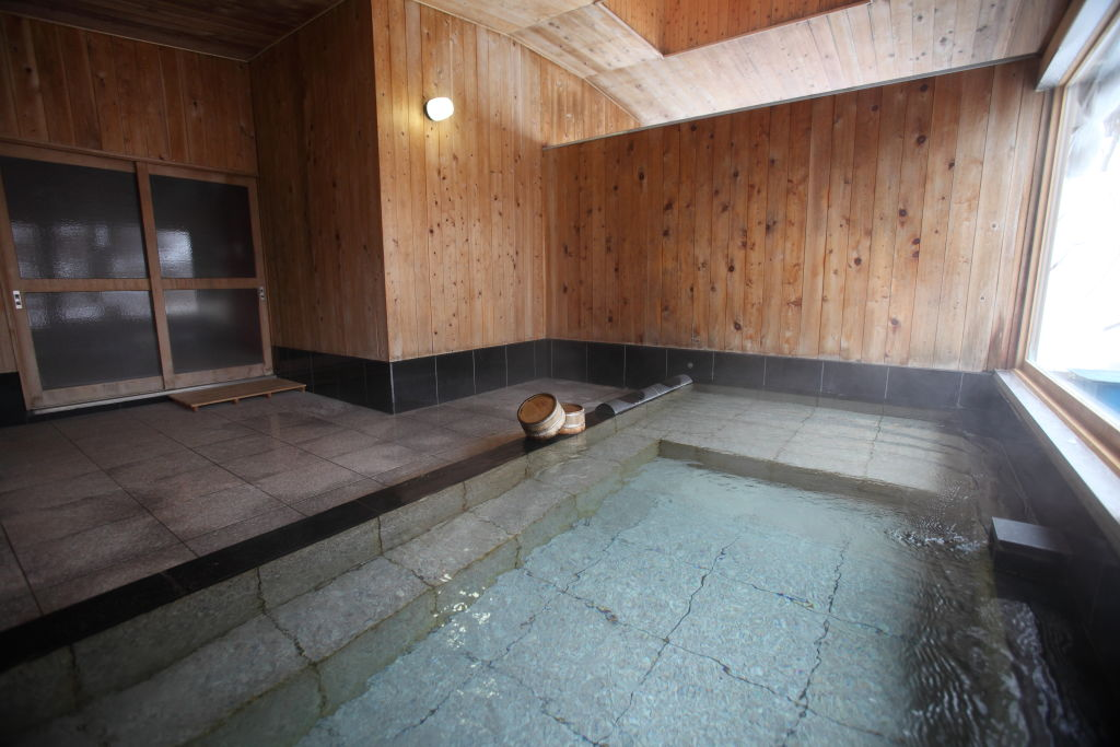 <p>貸切内風呂</p>