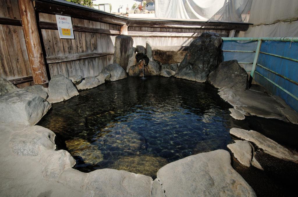 <p>露天風呂一例</p>