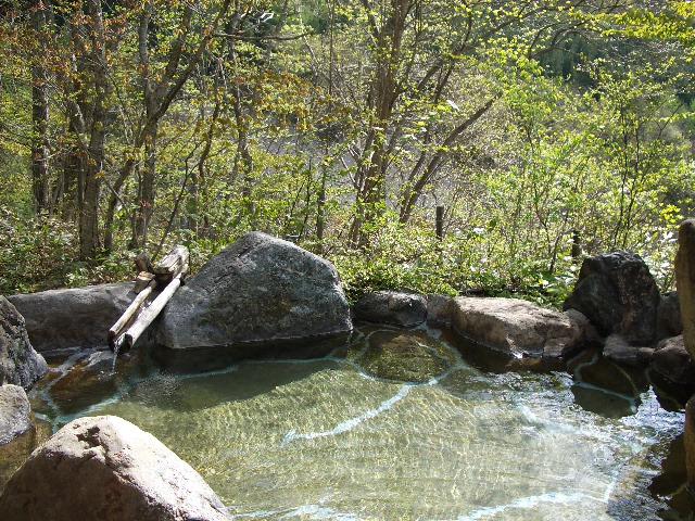 <p>専用露天風呂の一例</p>
