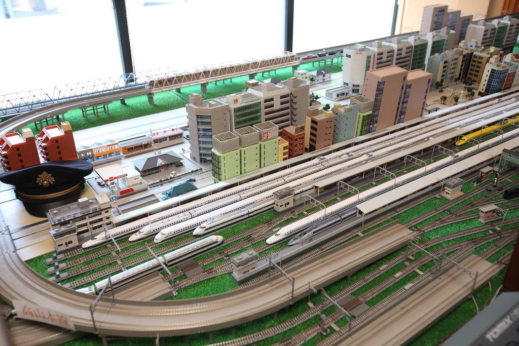 <p>鉄道ジオラマ</p>